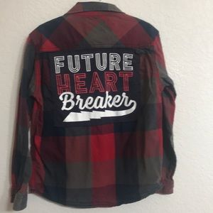 Future Heartbreaker Upcycled Quiksilver shirt 6